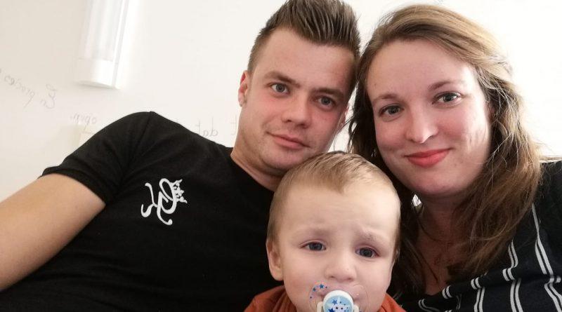 Mathis met mama en papa