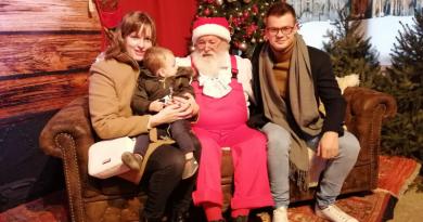 Mathis bij de kerstman